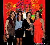 Ryan McGinness - Women: Blacklight Paintings and Sculptures Exhibition Opening #96