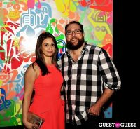 Ryan McGinness - Women: Blacklight Paintings and Sculptures Exhibition Opening #158
