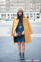 NYC Fashion Week FW 14 Street Style Day 7 #11