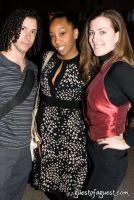 Fernando Colon, runway photographer (left); Qianna Smith, ESSENCE.com fashion and beauty editor (center); Elisia Munareto, FashionQandA.com Editor-at-Large (right)