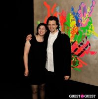 Ryan McGinness - Women: Blacklight Paintings and Sculptures Exhibition Opening #187
