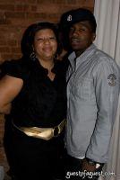 Publicist Jeanette Brown with client Rap Artist NIV