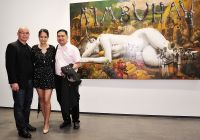 Ronald Ventura: A Thousand Islands opening at Tyler Rollins Gallery #88