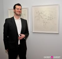 Joseph Ryan - New Works exhibition opening at Galerie Mourlot #92