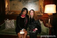 (Right side)Editor-in-Chief of Black Tie International Magazine, Joyce Brooks