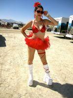 Julia Allison Does Burning Man #12