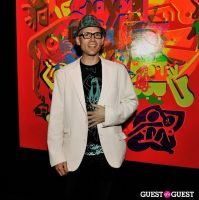 Ryan McGinness - Women: Blacklight Paintings and Sculptures Exhibition Opening #54