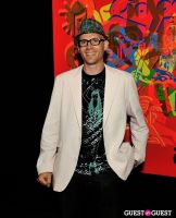 Ryan McGinness - Women: Blacklight Paintings and Sculptures Exhibition Opening #56