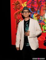Ryan McGinness - Women: Blacklight Paintings and Sculptures Exhibition Opening #55