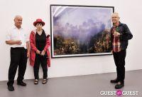Kim Keever opening at Charles Bank Gallery #74