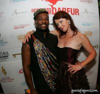 Malcolm Harris (Designers for Darfur Founder) and Justine McCarthy (Simply Chic)