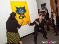 Cat Art Show Los Angeles Opening Night Party at 101/Exhibit #145