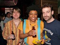 Julian, Nichelle Stephens, Jeff Newelt aka JahFurry