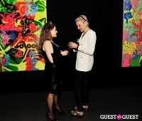 Ryan McGinness - Women: Blacklight Paintings and Sculptures Exhibition Opening #26