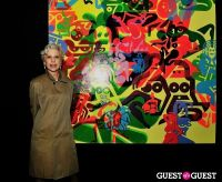 Ryan McGinness - Women: Blacklight Paintings and Sculptures Exhibition Opening #167