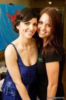 Valeria Tignini, Sarah Flemming, (Tabitha Rose painting in background)