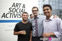 Art and Social Activism Exhibition Opening #119