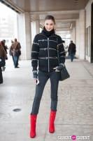 NYC Fashion Week FW 14 Street Style Day 7 #17