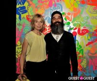Ryan McGinness - Women: Blacklight Paintings and Sculptures Exhibition Opening #135