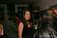 Chocolate Bar baker Megan McGonigal chats with Dubai partner Ziad Kaddoura at the Chocolate Bar West Village opening bash