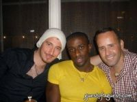 Arthur Boujenah, Naeem Delbridge, and Scott Buccheit at Gusto