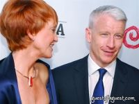 Kathy Eldon and Anderson Cooper