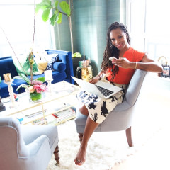Certified Cool Mom & Businesswoman Latham Thomas Shares Her Secrets For Doing It All