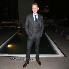 Tom Hiddleston Looks The Part At An NYC Screening Of 'I Saw The Light'