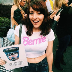 Get Your FREE Bernie Sanders Ice Cream In NYC Today!