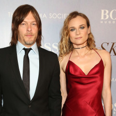 Diane Kruger & Norman Reedus Cozy Up At The 'Sky' Screening