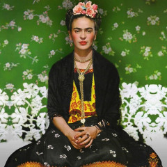 A Rare Look At Frida Kahlo's Wardrobe, Unveiled After 50 Years