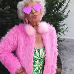 Baddie Winkle Is The Best/Baddest Grandma Out There