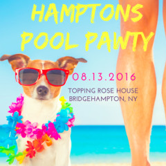 You're Invited! Hamptons Pool Pawty