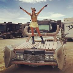 Instagram Round Up: Celebrities Do Desert Chic At Burning Man