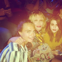 Frances Bean Cobain Rocked Out With Cara Delevingne & All Is Right In The World
