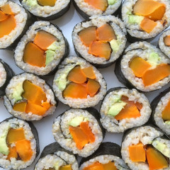 Get FREE Pumpkin Spice Sushi In NYC Today
