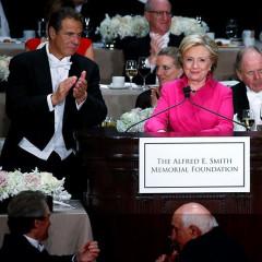 The Funniest Burns At Last Night's Trump Vs. Clinton Roast