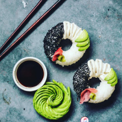 Sushi Doughnuts Are A Thing Now