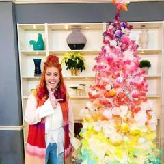 Rainbow Christmas Trees Are This Season's Big Trend