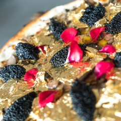 Behold, A $2000 Caviar, Truffle & Gold Flaked Pizza