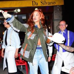 13 Fabulous Photos Of Rihanna Leaving Da Silvano