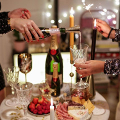 How To Properly Pop A Bottle Of Champagne