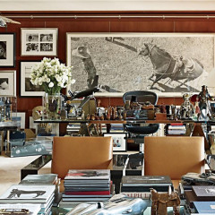 An Inside Look At Ralph Lauren's Fashionable Office