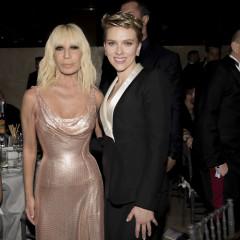 Donatella Versace & Scarlett Johansson Are Honored At amfAR's Annual Gala