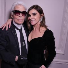 Karl Lagerfeld & Carine Roitfeld Fête During Paris Fashion Week
