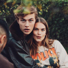 Lucky Blue Smith Is About To Be A Dad