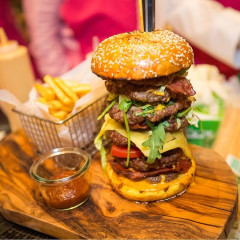 Look At This $10,000 Burger... For A Cause