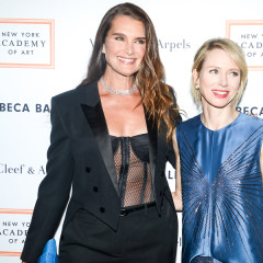 Brooke Shields Continues To Be Hottest Woman Ever At Last Night's Tribeca Ball