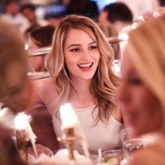 Dianna Agron & Katie Holmes Toast To Tribeca At Chanel's 12th Annual Artists Dinner