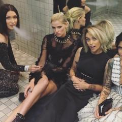 Bella Hadid & Paris Jackson Caught Smoking In The Met Bathroom